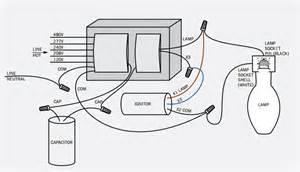 on High Pressure Sodium Ballast Wiring Diagram
